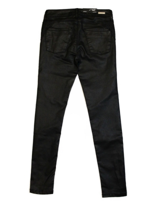 """Monlight Moto-Ly"" biker jegging schwarz"