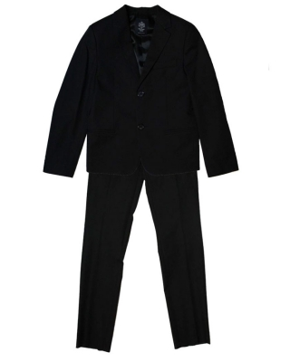 "Suit slim fit ""Christian"" schwarz Kinderanzug"