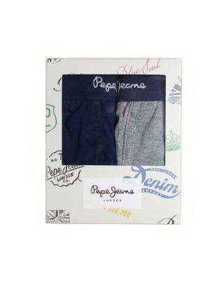 """Trunk Grays"" Underwear PBU10221, Navy/grey marl"