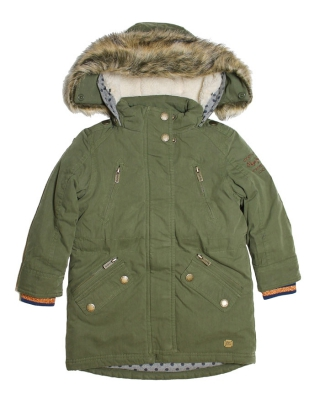 """""""Chantalle"""" Parka, PG400365/706, washed army"""