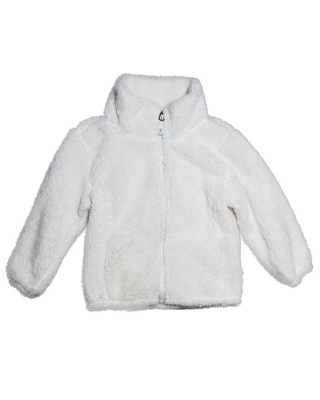 B`REP Fleece-Jacket 565801/100, off-white
