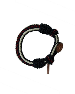 bracelet, 126766/1544-08.78500/K, red/blue/white