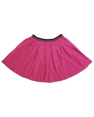 lace skirt pink