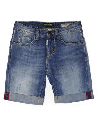 "Short ""Bellillo"" blue denim"