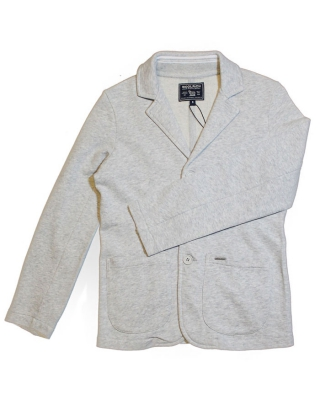 "Boys ""Fleece Blazer"" light grey <br> nur in Deutschland auslieferbar"