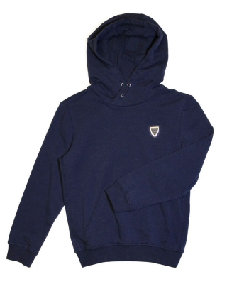 Sweat with hood Blu marine