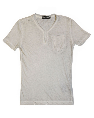 T-Shirt Dirty Wash chalk